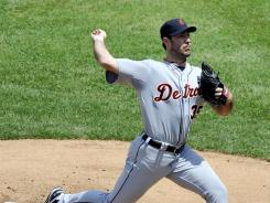 Justin Verlander has a 6-4 record and 2.66 ERA this season for Detroit.