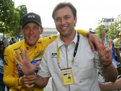 Lance Armstrong, Johan Bruyneel and several other associates are accused of a longstanding doping conspiracy that supplied the champion cyclist's teams.