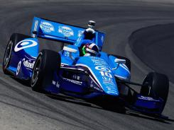 Dario Franchitti, who drives the No. 10 Target Chip Ganassi car, has the pole position for Saturday's Izod IndyCar Series Milwaukee IndyFest.