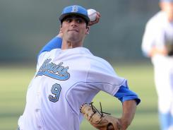UCLA sophomore Adam Plutko will have the honor of delivering the first official pitch of this year's College World Series as he faces Stony Brook on Friday.