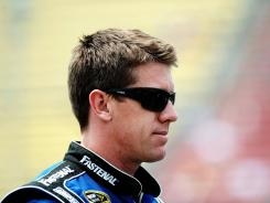 Carl Edwards will start from the back of the field in Sunday's NASCAR Sprint Cup Series Quicken Loans 400 at Michigan International Speedway.