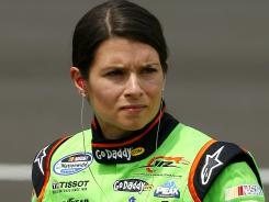 Danica Patrick's crew chief says she isn't getting enough respect and maybe she needs to start spinning people out.