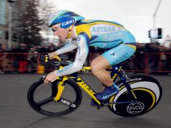 Levi Leipheimer, shown here at the 2009 Tour of California, was one of four cyclists who asked to be taken out of the running for places on the road cycling team for next month's London Games.