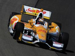 Ryan Hunter-Reay earned his first victory of the season and the sixth of his career Saturday in Milwaukee.