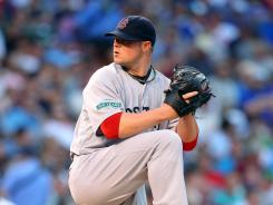 Boston Red Sox starting pitcher Jon Lester hasn't allowed more than three runs in any of his last three starts.