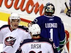 Columbus' Rick Nash and Vancouver's Roberto Luongo are expected to be changing addresses.