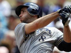 "Ryan Braun calls ""without a doubt, my most challenging year yet,"" he is on pace for a career season."