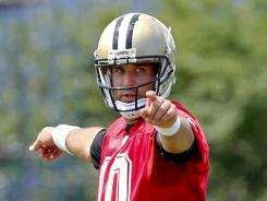QB Chase Daniel has been taking the first-team reps for the Saints this spring.