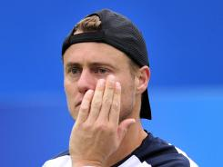 Lleyton Hewitt of Australia is the 2001 Wimbledon champion.