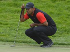 NBC's ratings for the U.S. Open spiked while Tiger Woods was in contention. His Sunday round opened with six dropped strokes on the first six holes, however.