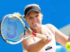 Melanie Oudin of the USA will face Jelena Jankovic in the Aegon Classic in Birmingham.