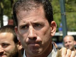 Former NBA referee Tim Donaghy exits Brooklyn federal court following his 2008 sentencing in New York.