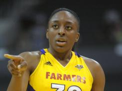 Los Angeles Sparks forward Nneka Ogwumike scored 24 points and grabbed seven rebounds for the Los Angeles Sparks, who beat the Washington Mystics 101-70 on Monday.