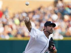 Tigers starting pitcher Justin Verlander gave up one run over seven innings in a 6-3 Detroit win against the St. Louis Cardinals.