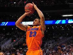 Florida's Bradley Beal is considered the top shooting guard prospect in this week's NBA draft.
