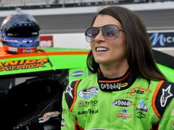Danica Patrick is 10th in the Nationwide standings but said she no longer is worrying about points.