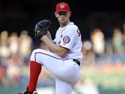 Nationals starting pitcher Stephen Strasburg delivered another strong performance against the Rays and won his ninth game of the season.