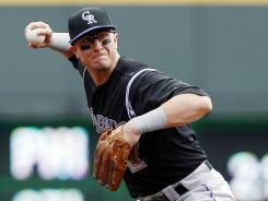 Rockies shortstop Troy Tulowitzki injured his groin May 30 against Houston.