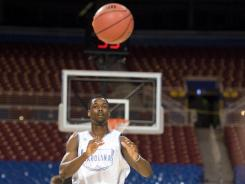 Small forward Harrison Barnes, out of North Carolina, is expected to be a top 10 pick in Thursday's NBA draft.