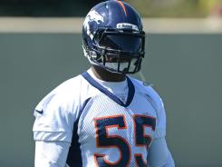 Broncos LB D.J. Williams has been in the news for all the wrong reasons in recent years.