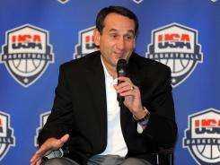 U.S. men's basketball team coach Mike Krzyzewski said he expects LeBron James to play in the Olympics this summer in London.