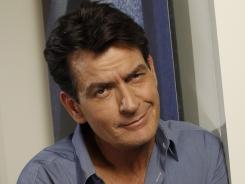 Unpredictable: Charlie Sheen will be on live TV
