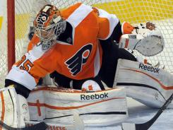 Sergei Bobrovsky spent two seasons with the Flyers but slumped as a sophomore.