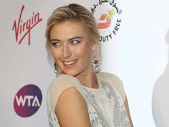 Maria Sharapova, arriving Thursday at the WTA Pre-Wimbledon Party in London, is the top seed at Wimbledon for the first time.
