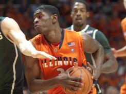 Illinois' Brandon Paul was the team's leading scorer last season with 14.7 points a game.