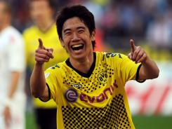 Shinji Kagawa, 23, is joining Manchester United after enjoying two succesful seasons with Borussia Dortmund, winning the German Bundesliga title both years.