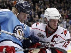 Jordan Staal, left, and brother Eric will be teammates on the Carolina Hurricanes next season.