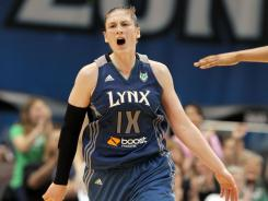 Point guard Lindsay Whalen tallied 25 points, six rebounds and eight assists in the Lynx's 79-67 win over the Sky.