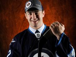 Lukas Sutter was drafted 39th overall pick by the Winnipeg Jets on Saturday.