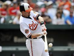 Matt Wieters has 10 home runs on the season.