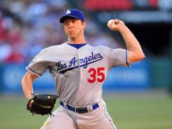 Dodgers starter Chris Capuano pitched seven innings, surrendering only one run, improving to 9-2 on the season.