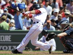 Cody Ross is 4-for-8 with six RBI in his last two games.