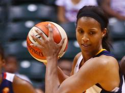 Tammy Sutton-Brown is averaging 4.1 points this season.