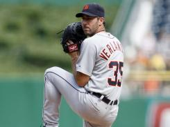 Justin Verlander has allowed just three earned runs in his last two starts.
