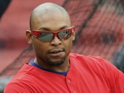 Positive: Marlon Byrd was suspended for using the cancer drug tamoxifen.