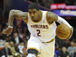 Rookie of the Year Kyrie Irving averaged 18.5 points, 3.7 rebounds and 5.4 assists for the Cavaliers this season.