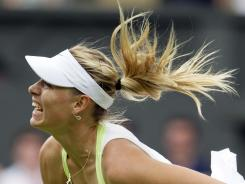 Maria Sharapova is the No. 1 player in the world and a four-time Grand Slam champ. She also is known as one of the WTA's loudest players.