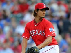 Texas starting pitcher Yu Darvish won his seventh consecutive start at Rangers Ballpark Tuesday against the Detroit Tigers.