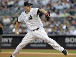 Yankees starting pitcher Phil Hughes earned his fifth win in his last six starts against the Cleveland Indians on Tuesday.
