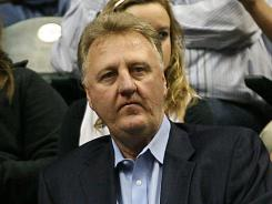 Hall of Famer Larry Bird is leaving the Indiana Pacers after stints in coaching and management that brought the club back to one of the best in the NBA's Eastern Conference.