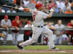 Angels first baseman Albert Pujols has now homered in 33 different major league ballparks after his two-run shot at Camden Yards.