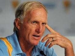 Greg Norman is in the field this week for the Constellation Senior Players Championship, his first event on the Champions Tour since 2009.