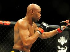 Anderson Silva, above, and Chael Sonnen will headline UFC 148 at the MGM Grand Garden Arena in Las Vegas on July 7.