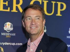 Davis Love III named Fred Couples and Mark Hulbert as his assistant captains.