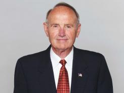 Eddie Jones, seen here in 2004, was an executive in the Dolphins organization from 1988-2005, and had served as president the New Orleans Saints' president from 1982-1985.