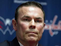 "Adam Oates says of his gameplan: ""You have to establish territory and protect it."""